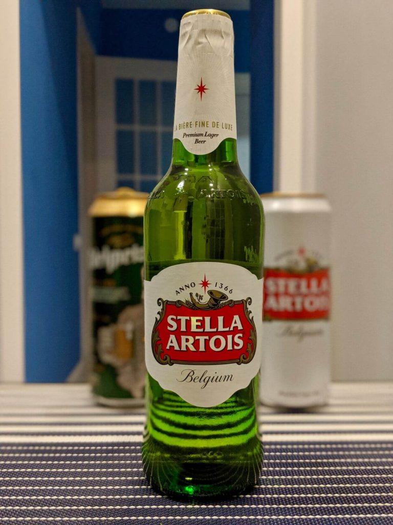 бутылка пива стелла артуа
