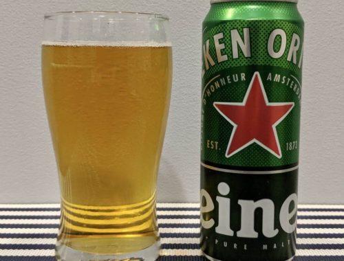 пиво хейнекен в стакане