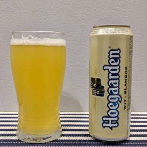 пиво хугарден в стакане