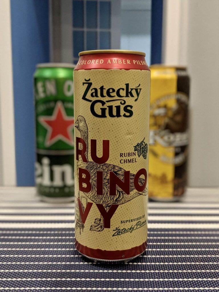 банка пива жатецкий гусь рубиновый