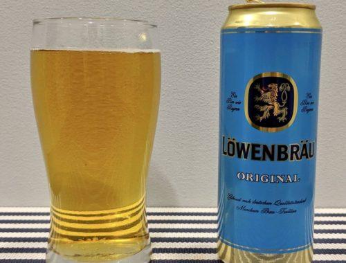 пиво ловенбрау в стакане