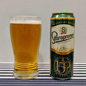пиво старопрамен в стакане