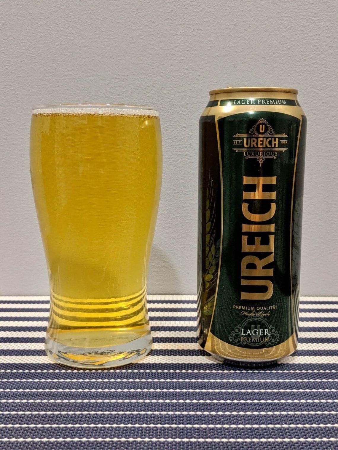 пиво урайх лагер в стакане