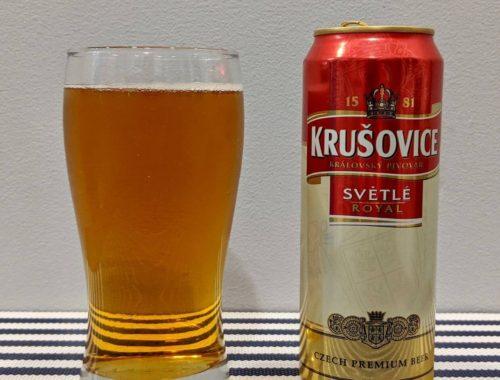 пиво крушовице светлое в стакане